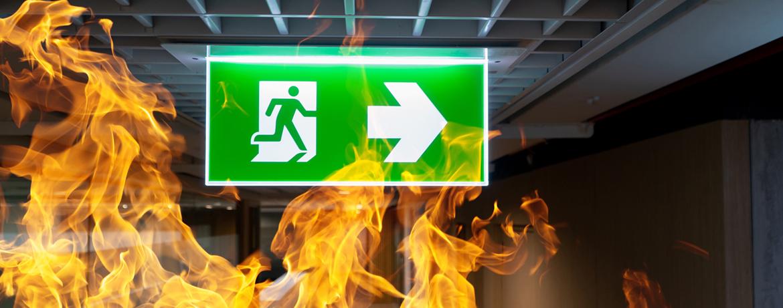 Brandgefahren im Flucht- und Rettungsweg sicher ausschließen
